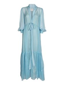 Forte Forte - Long dress in sea water color