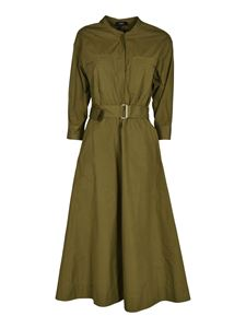 Theory - Shirt dress in Olive color
