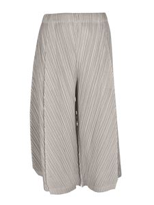 PLEATS PLEASE Issey Miyake - Thicker Bottoms 1 pants in gray