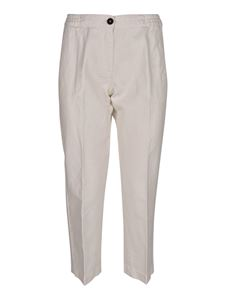 massimo alba - Sparus pants in white