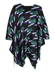 PLEATS PLEASE Issey Miyake - Shooting Star blouse in multicolor