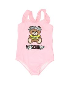 Moschino Kids - Daisy Teddy Bear swimwear in pink