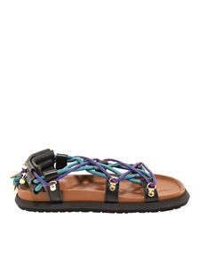 Sacai - Sandals with strings