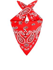 Etro - Paisley patterned kerchief in red