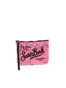 MC2 Saint Barth - Aline Bandanna Slide bag in pink