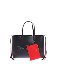 Tommy Hilfiger - Tommy Signature Icon bag in dark blue