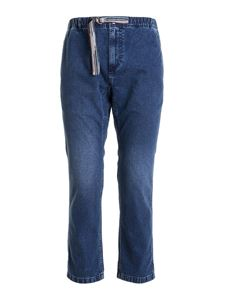 Missoni - Drawcord cropped jeans in blue