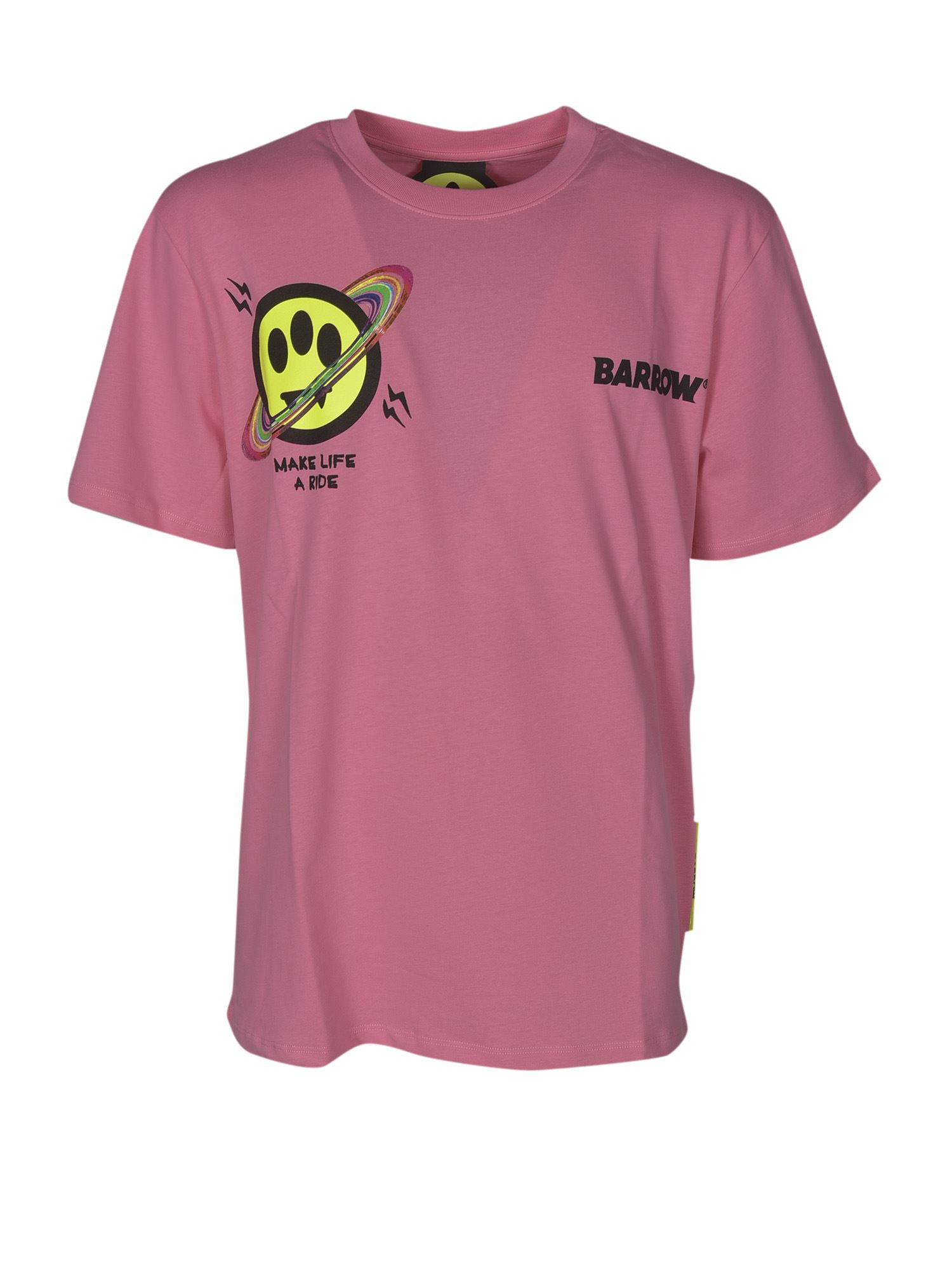 Barrow Cottons UX BUBBLE T-SHIRT IN PINK