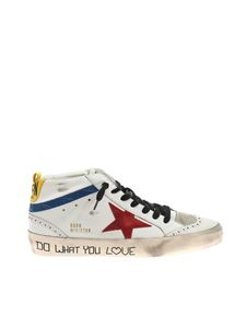 Golden Goose - Mid Star Classic sneakers in white