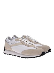 Doucal's - Sneakers bianche e beige