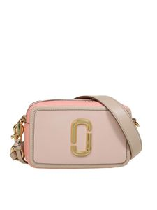 Marc Jacobs  - Softshot crossbody bag in Apricot Beige color