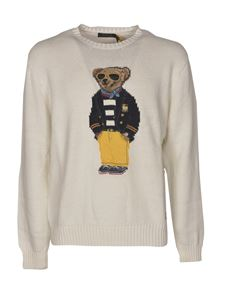 POLO Ralph Lauren - Teddy inlay pullover in white