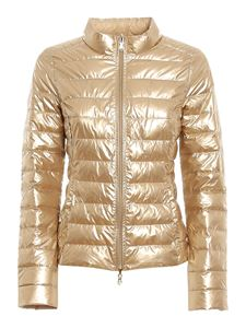 Patrizia Pepe - Lightweight puffer jacket in gold color
