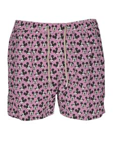 MC2 Saint Barth - Mickey Mouse swim trunks in pink