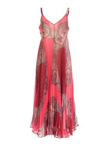 TWINSET - Paisley print dress in red