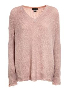 Avant Toi - Destoyed detailed sweater in pink