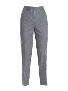 Tommy Hilfiger - Slub pants in white and blue