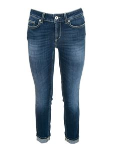 Dondup - Monroe jeans in faded blue