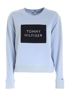 Tommy Hilfiger - Relaxed Box sweatshirt in light blue