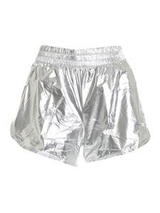 Tommy Hilfiger - Woven shorts in silver color