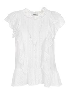 Dondup - Lace top in white
