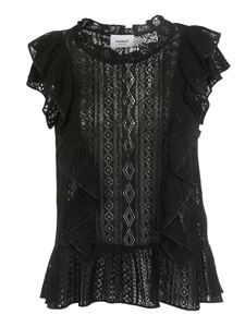 Dondup - Lace top in black