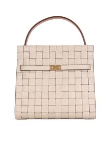 Tory Burch - Double Lee Radziwill bag in Buttermilk color