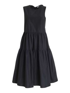 Red Valentino - Front bows dress in black
