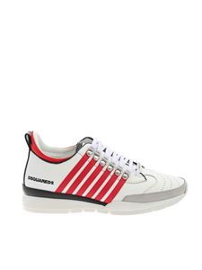 Dsquared2 - Logo plate sneakers in white