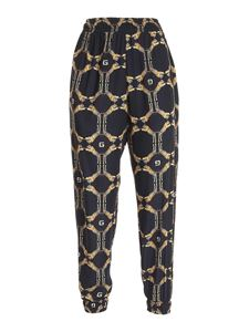 Gaelle Paris - Tiger print pants in black