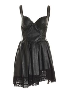 Gaelle Paris - Lace details dress in black