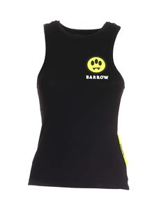 Barrow - Logo patch ribbed top in black