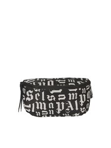 Palm Angels - Marsupio stampa Monogram nero