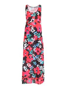 Gaelle Paris - Floral print dress in black