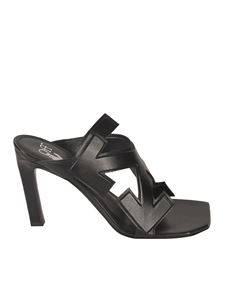Off-White - Arrows sandals in black