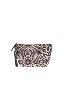 Gaelle Paris - Animal print clutch bag