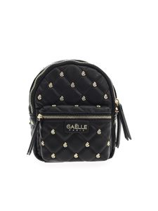 Gaelle Paris - Quilted backpack in black