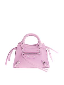 Balenciaga - Neo Classic Mini cross body bag in purple