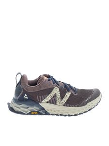 New Balance - Logo sneakers in brown and purple