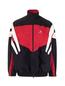 Balenciaga - Tracksuit jacket in black and red