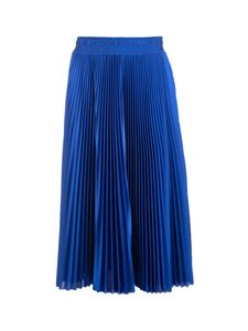 Balenciaga - Pleated Tracksuit skirt in blue