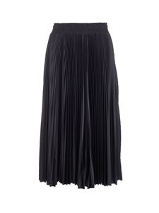 Balenciaga - Pleated Tracksuit skirt in black