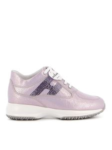 Hogan - Interactive sneakers in pink