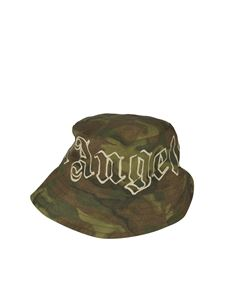 Palm Angels - Camou fisherman hat in green