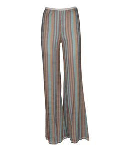 Missoni - Striped pants in light blue
