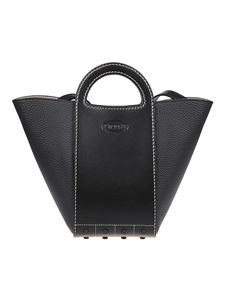 Tod's - Rubber details tote bag in black