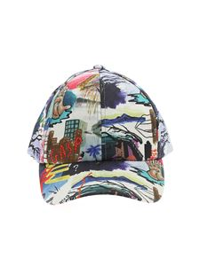 Paul Smith - Cappello con stampa multicolor