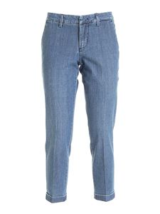 Fay - Chino jeans in light blue