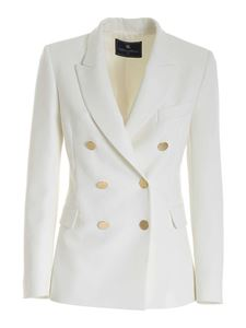 Paolo Fiorillo - Double-breasted jacket in white