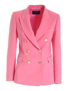 Paolo Fiorillo - Double-breasted jacket in pink
